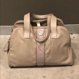 Lululemon Duffel Bag - light gray